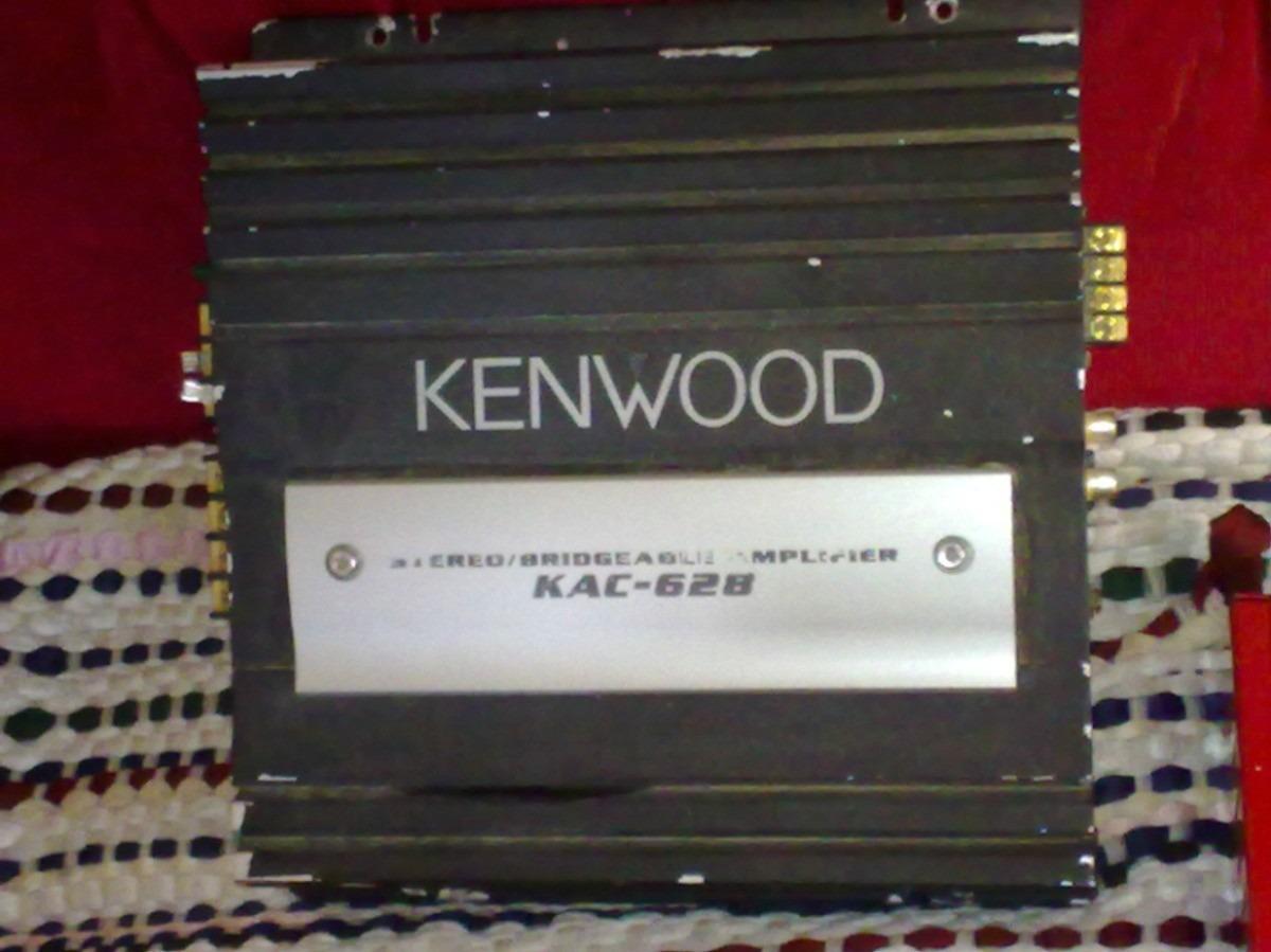 kenwood amplificador: