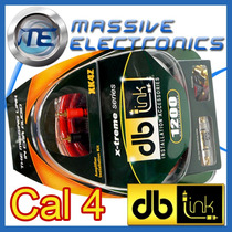 Kit De Instalacion Cables Db Link Xk4z Calibre 4 1200 Watts