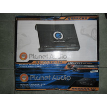 Planet Audio Anarchy 2500 Whatts Monoblock Control De Bajos
