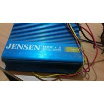 Amplificador Jensen 150w X 2