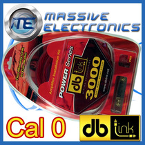 Kit De Instalacion Cables Db Link Pk0z Calibre 0 3000 Watts
