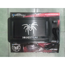 Soundstream Amplificador 2000 Whatts Clase D Control De Bajo