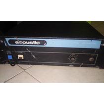 Amplificador Acoustic Mod 833 Mono 200 Wts Vintage