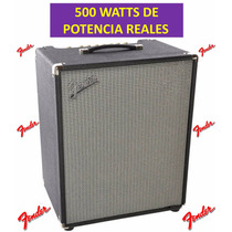 Amplificador Bajo 500 Watts Fender Ampeg Orange