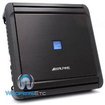 Mrv-f300 - Alpine 4 Canales 300w Rms V Amplificador Power Se