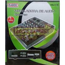 Mezcladora Audio 8 Canalesusb Ma2008 Dxr012545