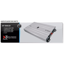 Amplificador 1000 Watts Clase D Hf1000.1d
