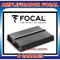 Amplificador Focal 4 Canales R-4280 Nuevo Set De Medios