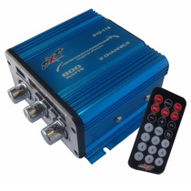 Amplificador Dxr 2 Canales 800w Radio Fm Con Digital Player