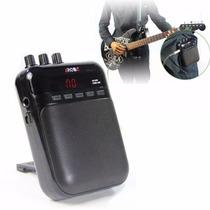 Amplificador Portatil Aroma Para Mp3 Con Guitarra Electrica