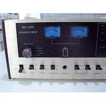 Amplificador Gradiente Modelo Pro1200 Vintage