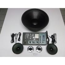 Kit Audio, Amplificador, Sonido Con Woofer De 18 $2850