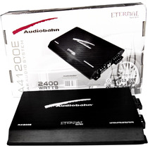 Amplificador Audiobahn Serie Eternal 2400w 4 Canales Bafles