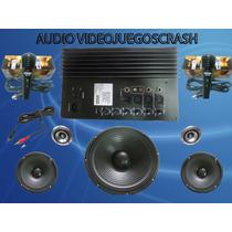 Kit Completo De Audio A Solo $1895 Pesos Videojuegoscrash