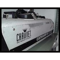Potente Maquina De Humo Chauve F-1500 Dj Amplificador Cd
