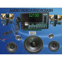 Kit Completo Audio Usb Sd Mp3 Amplificador Y Bocinas, Bafle