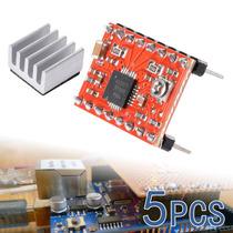 5x 3d Impresora A4988 Motor De Pasos Del Conductor Reprap Au