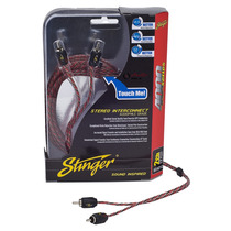 Stinger Cable Rca Si4217 Series 4000 2ch 17ft