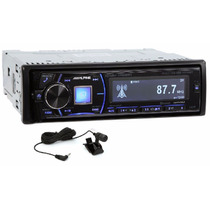 Autoestereo Alpine Cde 149bt Bluetooth Audio Mp3 Hd Radio