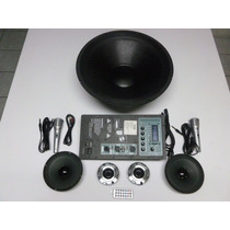 Kit Audio, Amplificador, Sonido Con Woofer De 18 $2850