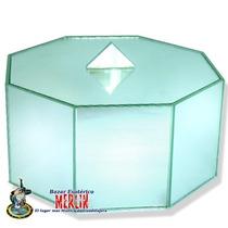 Caja Octagonal De Feng Shui Para Atraer Abundancia / Grande