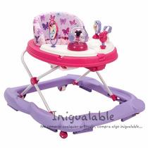 Andadera Para Niños De Minnie Mouse Rosa Con Morado