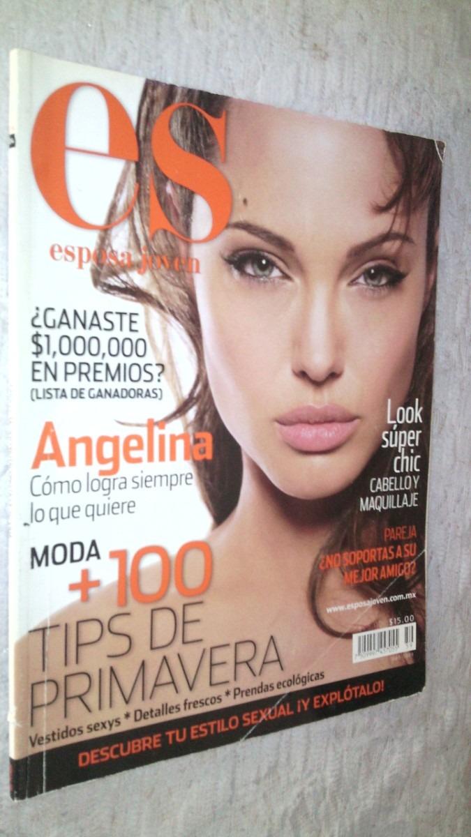 Angelina Jolie Revista Esposa Joven 2007 - $ 60.00 en MercadoLibre