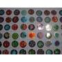 Lote 64 Tazos De Coleccion Angry Birds Space Diferentes