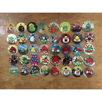 Coleccion De 124 Tazos Sin Repetir De Angry Birds