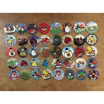 Coleccion De 69 Tazos Sin Repetir De Angry Birds
