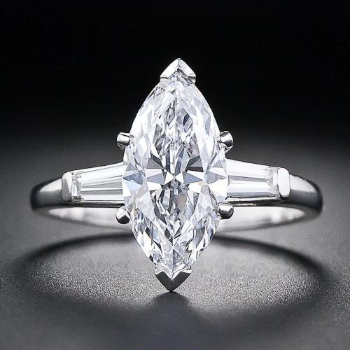 Anillos de compromiso baratos, Vintage diamante anillos