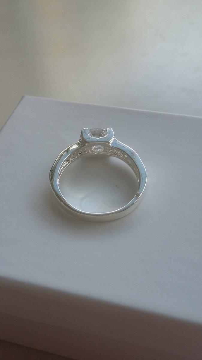 Anillo hermoso en ba o de plata anillos de compromiso for Bano de plata precio