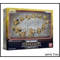 12 Figuras De Dorados Saint Seiya. Entrega Inmediata. Mty.