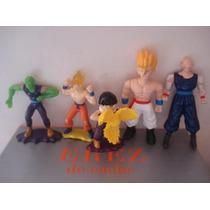 5 Figuras De Dragon Ball Z Miden 14 Cms