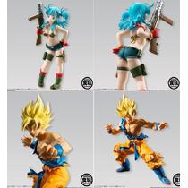 Dragon Ball Z Bulma Y Goku Super Saiya Styling Bandai