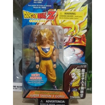 Figura Gashapon Goku Ss3 De La Serie Anime Dragon Ball Z