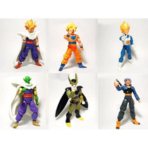 Set De 6pz De Figuras De Accion Dragon Ball Z Goku