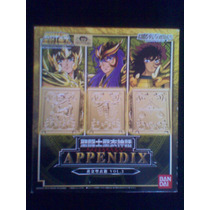 Pandora Box Volumen 3 Appendix Myth Cloth Jp Saint Seiya