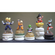 Ajedrez Dragon Ball Goku Trunks Krilin Mini Figuras Sueltas