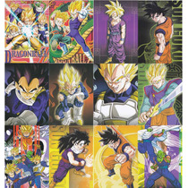 Coleccion De Arte Visual De Dragon Ball Z Mod S1 12 Cromos
