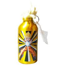 Genial Botella De Aluminio De Goku De Dragon Ball Z , Kfc M2