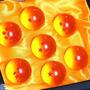7 Esferas Del Dragon 4cm Incluye De Regalo Caja Exhibidora