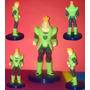 Figuras Dragon Ball Z Androide 16, Vegeta, Bardok Y Broly