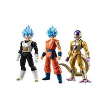 Dragon Ball 3 Pack Figuras Articuladas Como En La Imagen