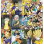 Coleccion De Arte Visual De Dragon Ball Z Mod S2 12 Cromos