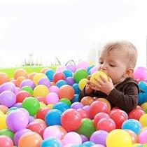 ¡divertido! Bolsa De 100 Plastic Pit Balls - Fabricado Con M