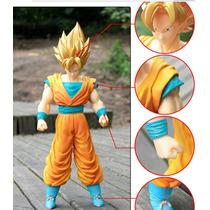Figura Goku Super Sayayin Super Grande 36 Cm Dragon Ball Z