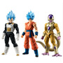 Dragon Ball Z Shodo Pack Vol.2 Bandai Goku Vegeta Freezer