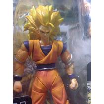 Goku Ss3 Hybrid Action Dragón Ball Bandai