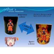 Taza Magica Goku Dios